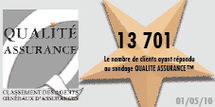 BILAN DE L'OBSERVATOIRE QUALITE ASSURANCE