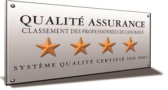 4ème Etoile : La qualité attendue par l'assuré